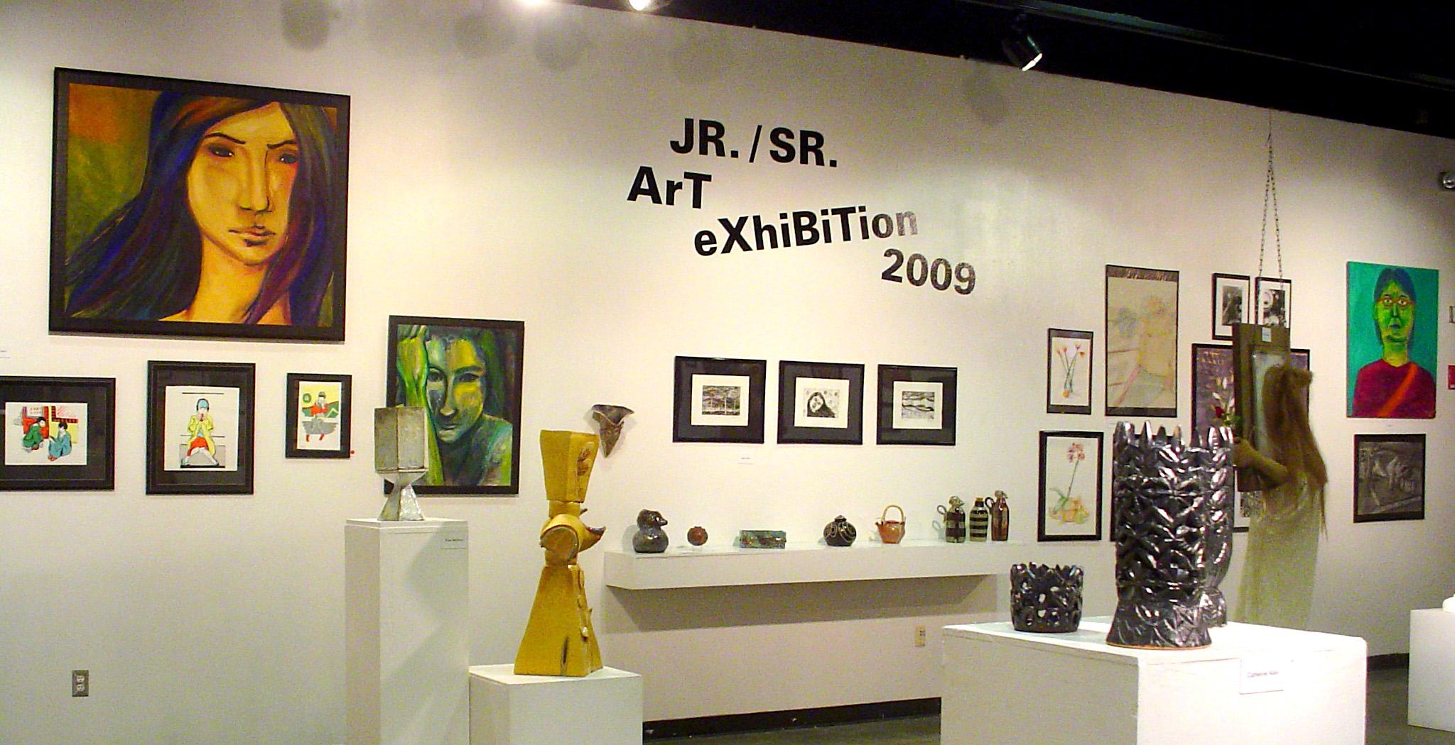 Exposición de arte junior / senior