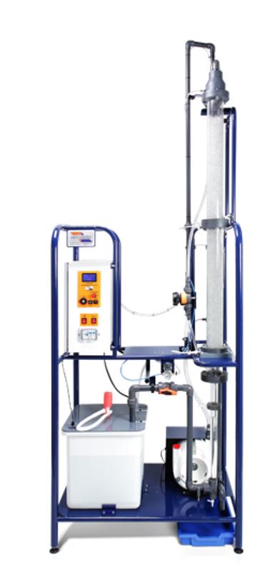 Columna de absorción de gas