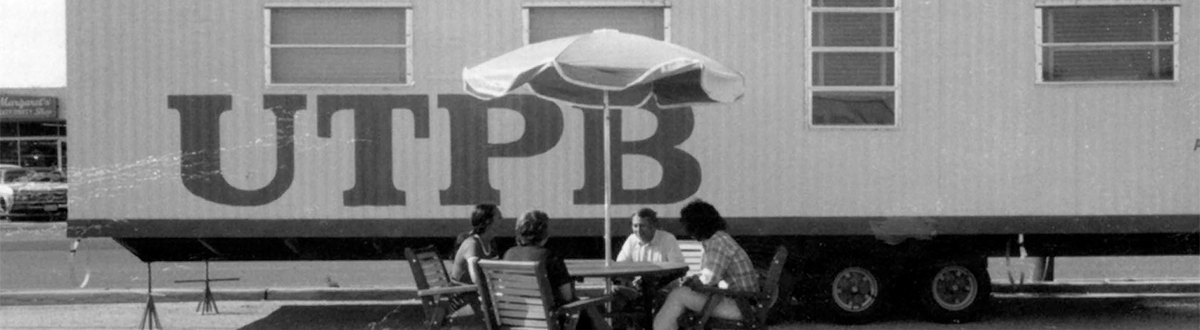 Old archive photo of utpb