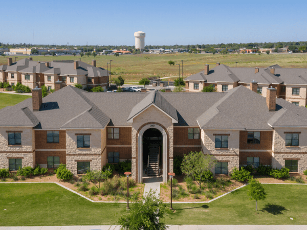 Foto aérea de la vivienda UTPB