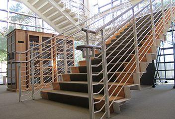 Escaleras de la biblioteca