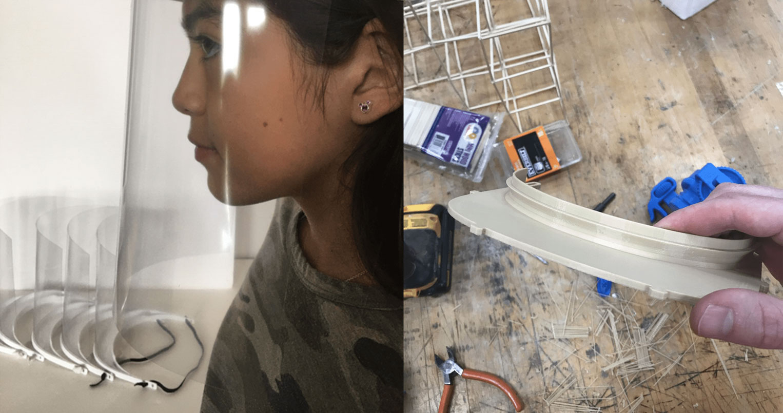 3D printing face masks design